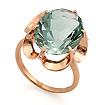 Золотое кольцо <em>с аквамариновым <noindex>кварцем</noindex></em> SL-0225-440 весом 4.43 г  стоимостью 19492 р.