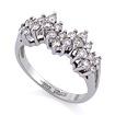 Золотое кольцо с бриллиантами SLV-K422 весом 3.52 г  стоимостью 59400 р.