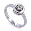 Золотое кольцо с бриллиантами SLV-K387 весом 3.11 г  стоимостью 27000 р.