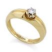Золотое кольцо с бриллиантами SLV-K333 весом 3.79 г  стоимостью 39060 р.