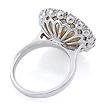 Золотое кольцо с бриллиантами и жемчугом 8.26 г SLY-5186-826