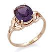 Золотое кольцо с александритом (синт.) SL-0249-350 весом 3.3 г  стоимостью 13860 р.