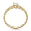 Золотое кольцо с бриллиантами 1.91 г SLY-0217-190