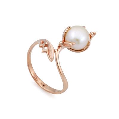Кольцо с жемчугом 3.39 г SL-0245-339