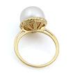 Кольцо с жемчугом в золоте 4.22 г SL-0246-422