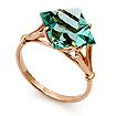 Кольцо из золота &mdash; <em><noindex>кварц</noindex> цвета аквамарина</em> SL-0255-292 весом 4.05 г  стоимостью 17820 р.