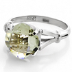 Кольцо с аметистом в белом золоте 3.75 г SL-0255-375