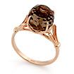 Кольцо с раухтопазом из золота SL-0255-415 весом 4.15 г  стоимостью 12250 р.