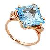 Кольцо Золотые кольца с топазом SL-2117-478 весом 4.78 г  стоимостью 34380 р.