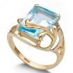 Кольцо с топазом из золота 375 пробы SL-2174-558 весом 5.58 г  стоимостью 15300 р.