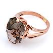 Золотое кольцо с раухтопазом «Калейдоскоп» 7.05 г SL-2187-645