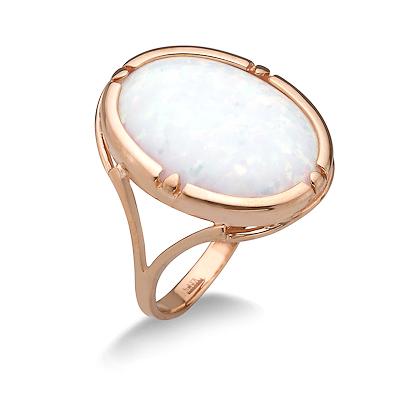 Кольцо с крупным опалом 4.8 г SL-2227-480