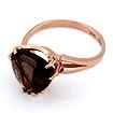 Кольцо с раухтопазом в красном золоте 4.09 г SL-2852-409