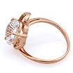 Кольцо с горным хрусталем из золота 3.66 г SL-2859-366