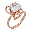 Кольцо с горным хрусталем из золота SL-2859-366 весом 3.66 г  стоимостью 16470 р.