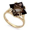 Кольцо с раухтопазом в желтом золоте SL-2862-495 весом 4.95 г  стоимостью 22275 р.