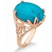 Кольцо с бирюзой (природной) SL-2890-500 весом 5 г  стоимостью 24250 р.