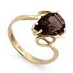 Кольцо с раухтопазом из золота SL-2857-313 весом 3.13 г  стоимостью 14085 р.