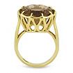 Коктейльное кольцо с раухтопазом 9.2 г SLY-2244-920