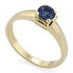 Золотое кольцо с сапфиром SLZ-17801-282 весом 2.82 г  стоимостью 28600 р.