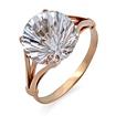 Золотое кольцо с горным хрусталем SV-0484-513 весом 5.13 г  стоимостью 23085 р.