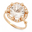 Оригинальное кольцо с горным хрусталем SV-0519-332 весом 3.32 г  стоимостью 11285 р.