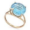 Кольцо с топазом (голубым) SV-0529-379 весом 3.79 г  стоимостью 21224 р.