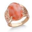 Кольцо с кораллом золотое SV-0566-588 весом 5.88 г  стоимостью 45860 р.